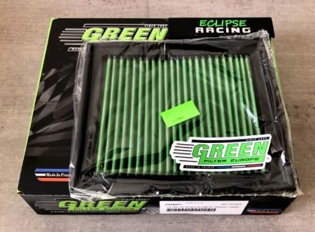 Filtro aria a pannello sportivo GREEN FILTER 206 1.1-1.4-1.6-1.9-2.0 (Escl.RC) immagini