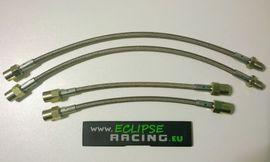 KIT Tubi freno in treccia metallica (4 tubi) DS3 Racing (pinze Brembo) immagini