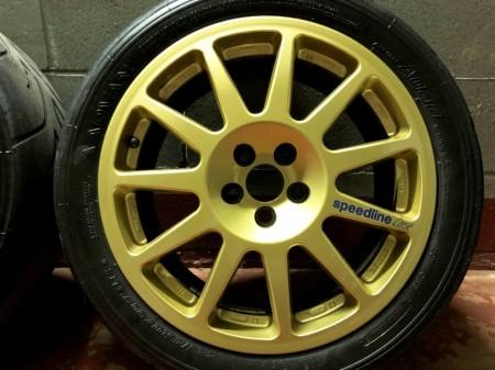 OCCASIONE USATO: Cerchi Speedline Corse Subaru GR.N in magnesio immagini