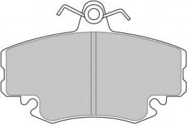 Pastiglie freno Carbone Lorraine (anteriori) Clio 1.8 o Williams immagini