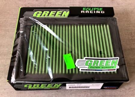 Filtro aria a pannello sportivo GREEN FILTER 307 1.4-1.6-2.0 immagini