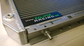 Radiatore acqua/olio maggiorato GR.A alluminio 50mm Renault 5 GT Turbo immagini