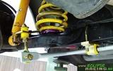 Barra antirollio posteriore 18mm regolabile + supporti poliuretano Twingo RS