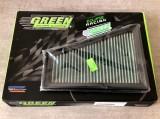 Filtro aria a pannello sportivo GREEN FILTER Clio 172/182 > 2001
