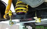Barra antirollio posteriore 18mm regolabile + supporti poliuretano Clio 172 182