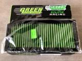 Filtro aria a pannello sportivo GREEN FILTER Clio 4 RS