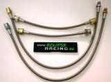 KIT Tubi freno in treccia metallica (4 tubi) 306 1.6-2.0 S16/GTI/GTI6