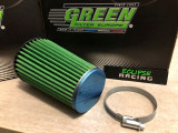 Ricambio filtro aria conico GREEN FILTER per aspirazione Saxo Cup