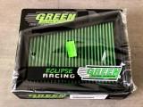 Filtro aria a pannello sportivo GREEN FILTER Megane 2 RS