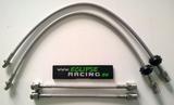 KIT Tubi freno in treccia metallica (4 tubi) Twingo RS
