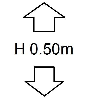 Perdele de Pascani inaltime (H) 50cm