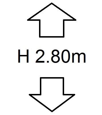 Perdele de Pascani inaltime (H) 2.80m