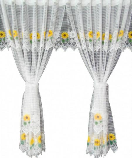 Set floarea soarelui alb, la bucata Model 51136 Siretul Pascani A