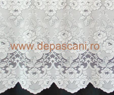 Perdea, model 5464, alb, H 2.00