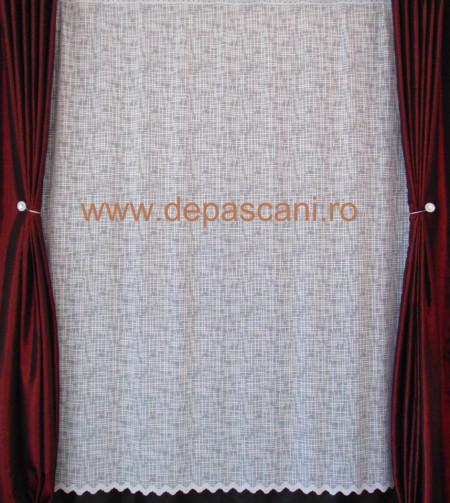 Perdea, model 051313, ivory H 2.40
