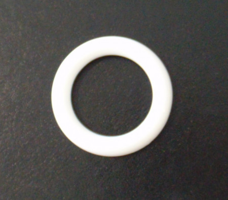 Inel plastic alb 38mm