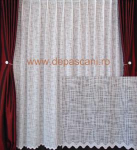 Perdea, model 51313, alb H 2.40
