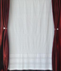 Perdea de Pascani, model 5915, confectionata cu rejansa, la gata c