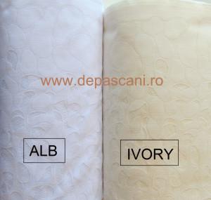 Perdea, model 05836, ivory H 2.40