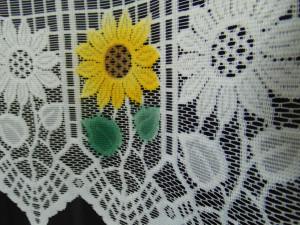 Set floarea soarelui alb, la bucata Model 51136 Siretul Pascani D