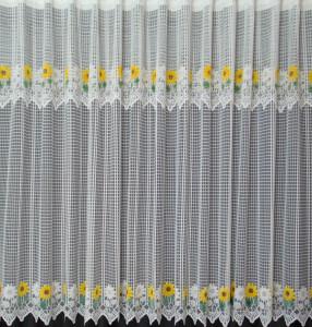 Set floarea soarelui alb, la bucata Model 51136 Siretul Pascani G