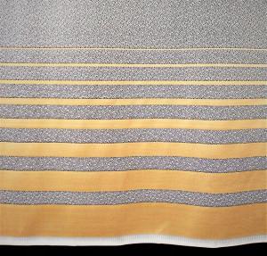 Perdea, model 5112 K, alb H 1.80
