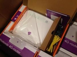 Router Modem 4G+ LTE CAT6 Huawei E5186 Decodat Compatibil Orange Cosmote Digi Vodafone Zapp TDD 2600Mhz