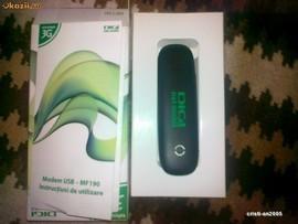 Modem 3G Decodat Zte MF190 Compatibil Orange Cosmote Vodafone Digi Zapp