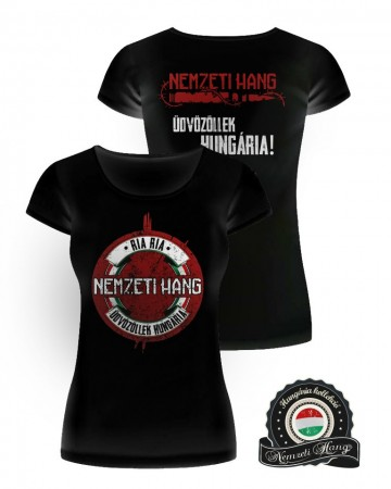 Üdvözöllek Hungária póló (női) kép