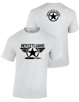 Nemzeti Hang - póló, csillag szárnyas (férfi) kép