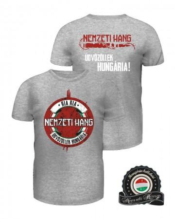 Üdvözöllek Hungária póló (férfi) kép