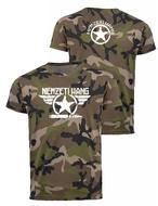 Csillag szárnyas póló - military (férfi)