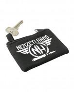 Kulcstartó - cipzáros pénztárcával