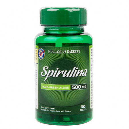 spirulina 500mg 60 tablete