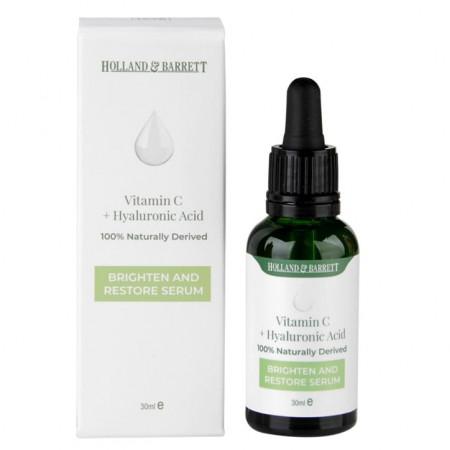 Serum natural hialuronic cu vitamina C 30ml