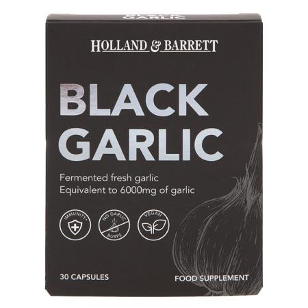 Usturoi negru (fermentat) 6000mg 30 capsule