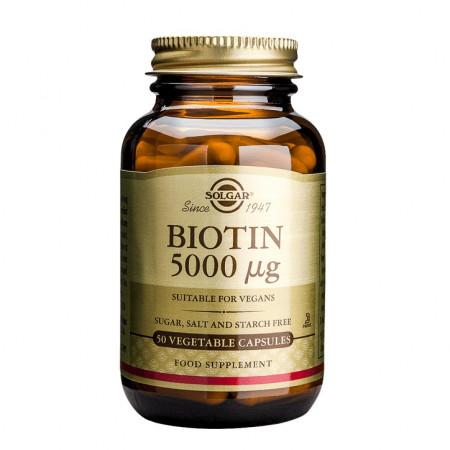 Poze Biotină 5000 мcg 50 capsule