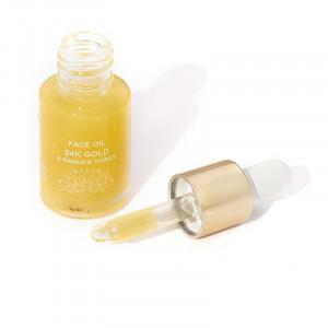 24K Gold Facial Oil și Miere de Manuka 12ml