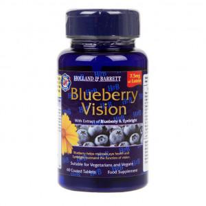 Complex pentru ochi sănătoși Blueberry Vision 60 comprimate