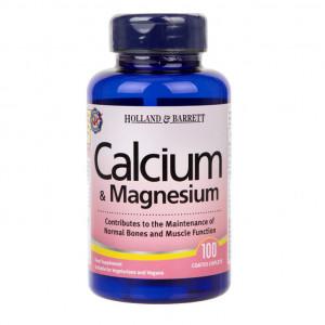 Calciu și magneziu 100 tablete