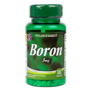 Bor 3 mg 100 comprimate