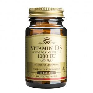 Vitamina D3 1000 I.U. 90 de tablete