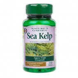 Kelp, 250 de tablete