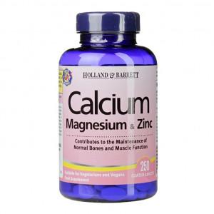 Calciu, Magnesiu si Zinc 250 comprimate