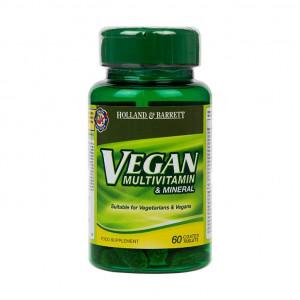 Vegan multivitamine și minerale 60 de tablete