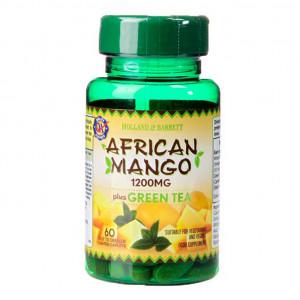 Mango african cu ceai verde 1200mg 60 comprimate