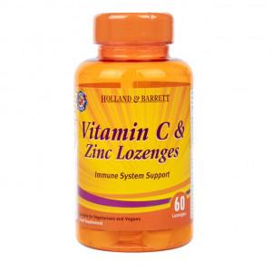 Vitamina C și zinc 60 comprimate pentru supt