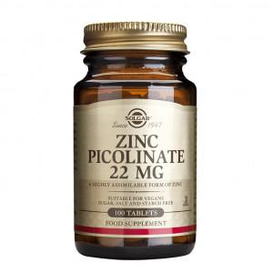 Picolinat de zinc 22mg 100 de tablete