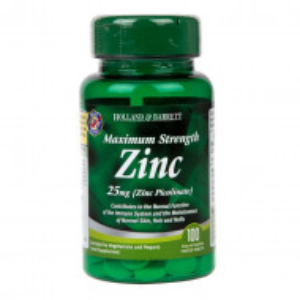 Zinc Picolinat 25 mg 100 comprimate