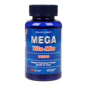 MEGA Multivitamine pentru adolescenți 120 tablete